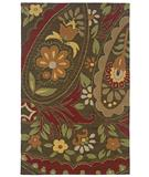 RugStudio presents Rizzy Country CT-914 Brown Hand-Tufted, Good Quality Area Rug